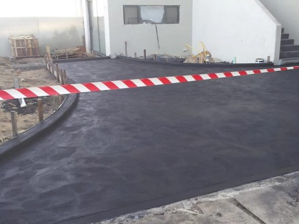 Coloured Driveway
